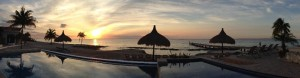 Cozumel Vacation Rentals Beautiful Sunset at Costa del Sol